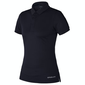 Kingsland Equestrian Flo Ladies Polo Shirt - Navy