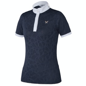 Kingsland Equestrian Florrie Ladies Competition Shirt - Navy