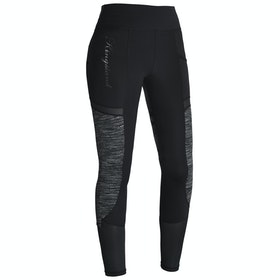 Kingsland Equestrian Karina F Tec Compression Full Grip Ladies Riding Tights - Black