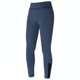 Kingsland Equestrian Karina F Tec2 Compression Ladies Riding Tights - Blue China
