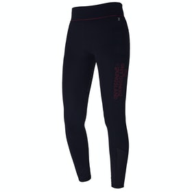 Kingsland Equestrian Karina F Tec2 Compression Ladies Riding Tights - Navy Red