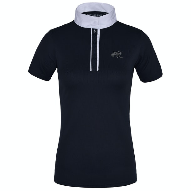 Kingsland Equestrian Anthea Short Sleeved Ladies Competition Shirt