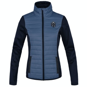 Riding Jacket Femme Kingsland Equestrian Agueda Softshell - Blue China