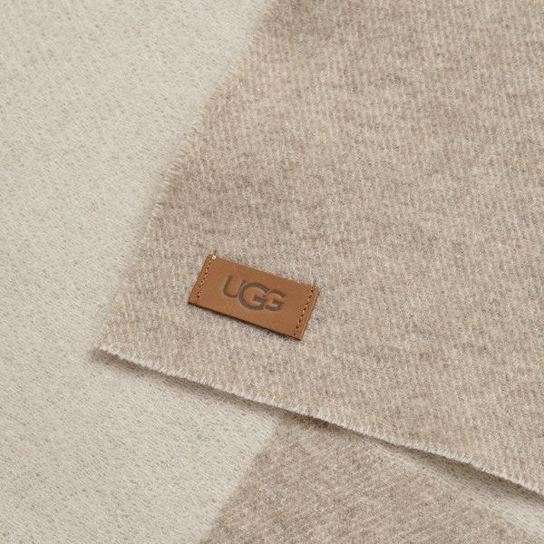 UGG Woven Ugg Logo Scarf