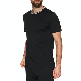 Piżama Polo Ralph Lauren Loop Back Jersey Top - Polo Black