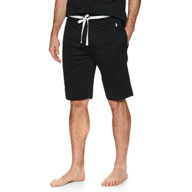 Piżama Męskie Polo Ralph Lauren Loop Back Jersey Shorts - Pl Black