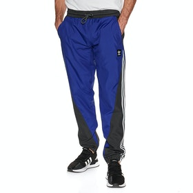 Adidas Insley Joggingbukser - Active Blue Solid Grey White