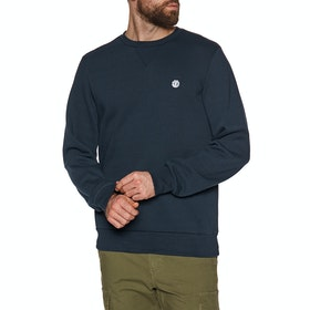 Element Classic Cornell Crew Sweater - Eclipse Navy