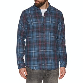 Hurley Vedder Washed Woven Shirt - Mystic Navy