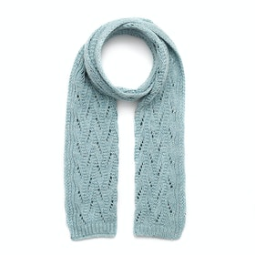 Dents Lace Marl Women's Scarf - Duck Egg