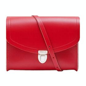 Borsa a Mano Donna The Cambridge Satchel Company Medium Push Lock - Red Berry