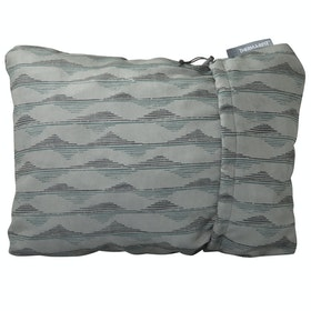 Thermarest Compressible Medium Travel Pillow - Gray Mtns