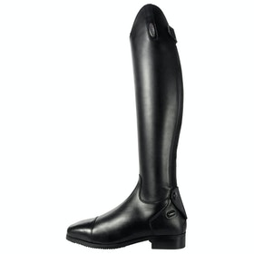 Brogini Ostuni V2 Smooth Front Ladies Long Riding Boots - Black
