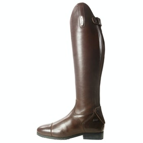 Brogini Ostuni V2 Smooth Front Ladies Long Riding Boots - Brown