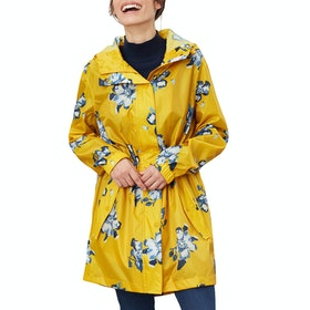 Joules Golightly Damen Jacke - Gold Floral