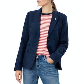 Joules Wiscombe Damen Blazer - Navy Tweed