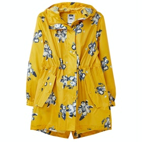 Joules Golightly 防水ジャケット - Gold Floral