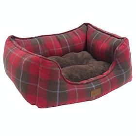 Cama para perro Joules Box - Heritage Tweed