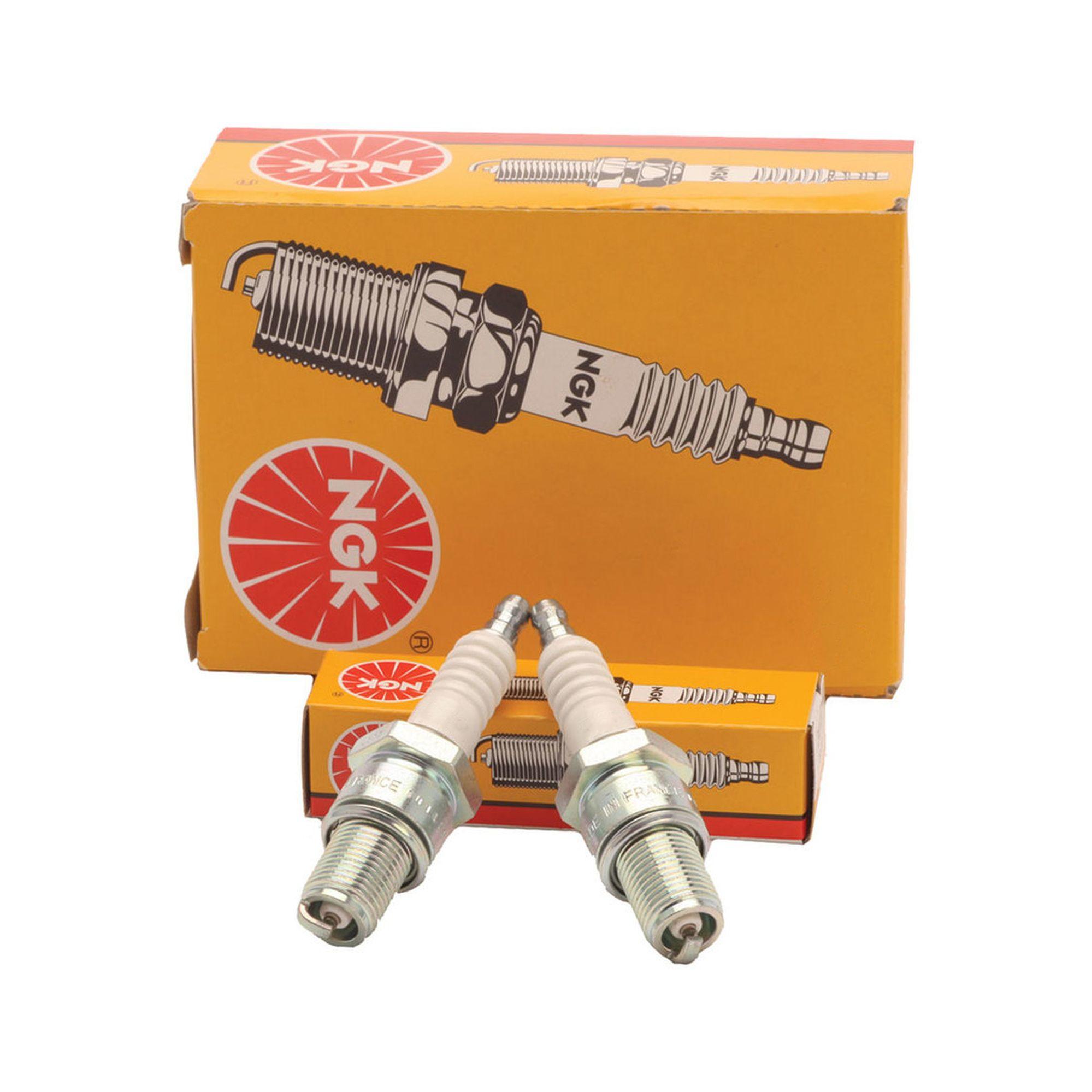 Solid Top NGK Spark Plugs LMAR8G Each