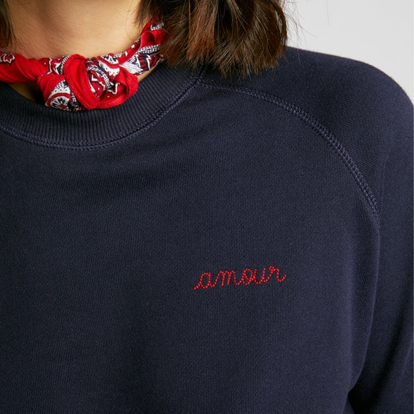 Maison Labiche Sweatshirt Amour Women's Sweater