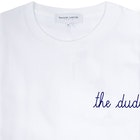 Maison Labiche The Dude Heavy Heren T-Shirt Korte Mouwen