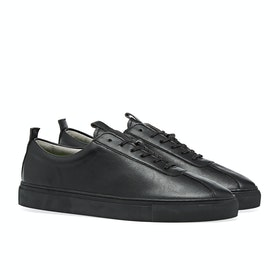 Grenson Vegan Sneaker 1 Shoes - Black Vegan