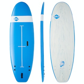 "Softech 7'0"" Zeppelin Surfboard - Blue"