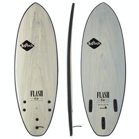 Softech Eric Geiselman Flash FCS II Thruster Surfboard - Grey Marble