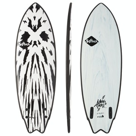 Softech Mason Ho FCS II Twin Surfboard - Gunmetal Black
