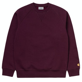 Carhartt Chase セーター - Shiraz / Gold