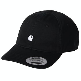 Carhartt Madison Logo Mütze - Black / Wax