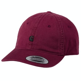 Carhartt Madison Logo 帽子 - Shiraz / Black
