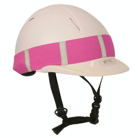 Roma Hat Reflective Band - Pink