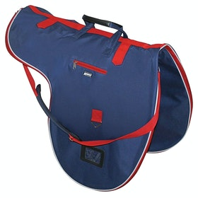 Roma Cruise Saddle Bag - Navy Red White
