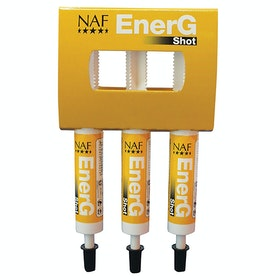 NAF EnerG Shot Performance Supplement - White