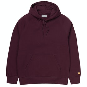 Carhartt Chase Pullover Hoody - Shiraz / Gold