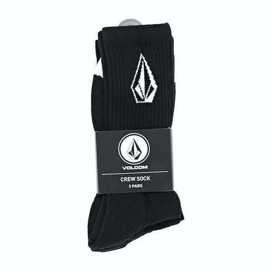 Volcom Full Stone Sock 3pk Fashion Socks