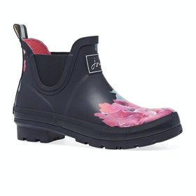 Joules Wellibob Womens Wellies - Navy Floral