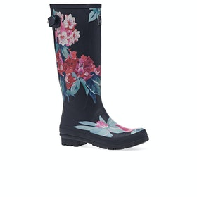 Joules Printed Womens Wellies - Navy Floral