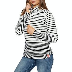 Joules Mayston Womens Sweater - Cream Navy Stripe