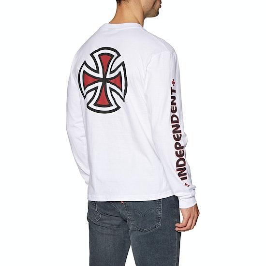 T-Shirt à Manche Longue Independent Bar Cross