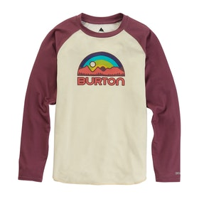 Burton Tech Kids Base Layer Top - Rose Brown