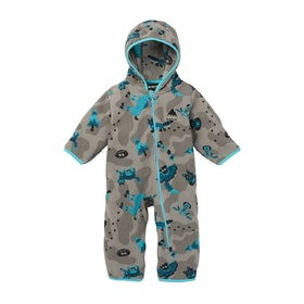 Burton Infnt Fleece Onesie Baby Snowsuit - Hide And Seek