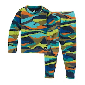 Burton Fleece Set Kids Base Layer Top - Summit Stripe