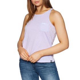 Superdry Essential Pocket Womens Tank Vest - Parma Violet