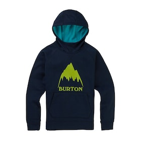 Burton Crown Bonded Boys Pullover Hoody - Dress Blue