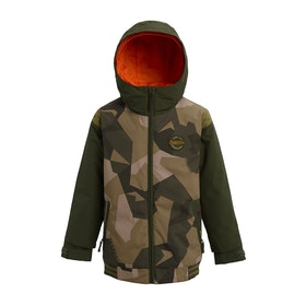 Burton Game Day Boys Snow Jacket - Three Crowns Camo