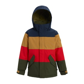 Burton Symbol Boys Snow Jacket - Dress Blue Multi
