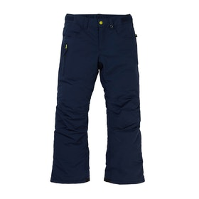 Burton Barnstorm Boys Snow Pant - Dress Blue