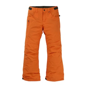 Burton Barnstorm Boys Snow Pant - Russet Orange